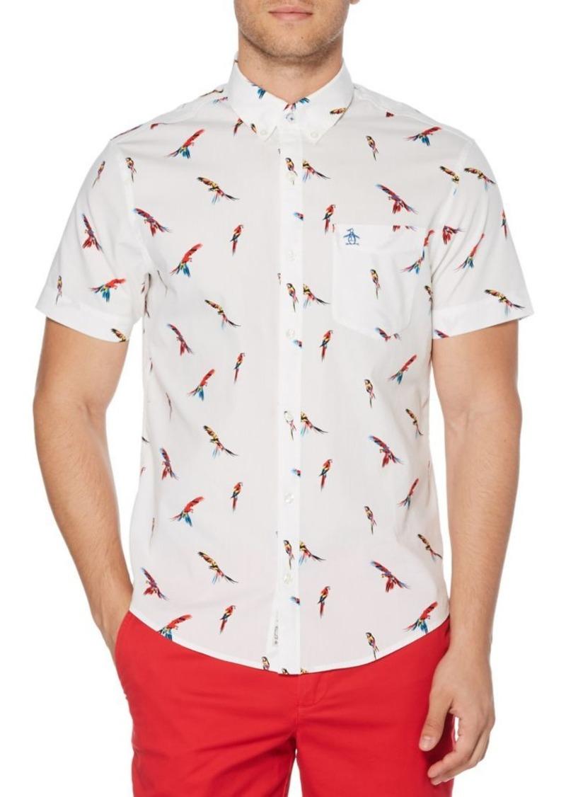 Original Penguin Parrot Printed Short-Sleeve Shirt