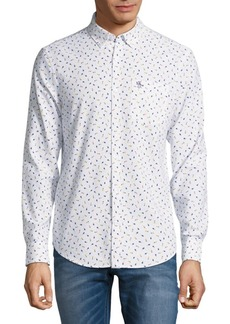 Original Penguin Pineapple Print Button-Down Shirt