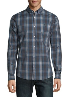 Original Penguin Plaid Button-Down Shirt