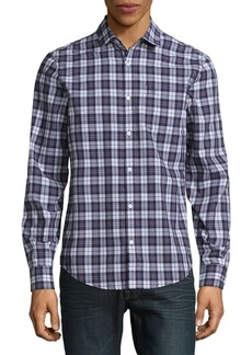 Original Penguin Plaid Casual Button-Down Shirt