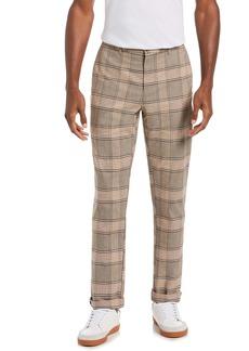 Original Penguin Plaid Flat Front Pants