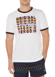 Original Penguin Pride Graphic Ringer Tee