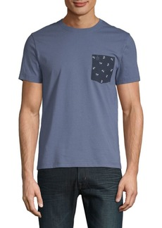 Original Penguin Print Pocket Tee