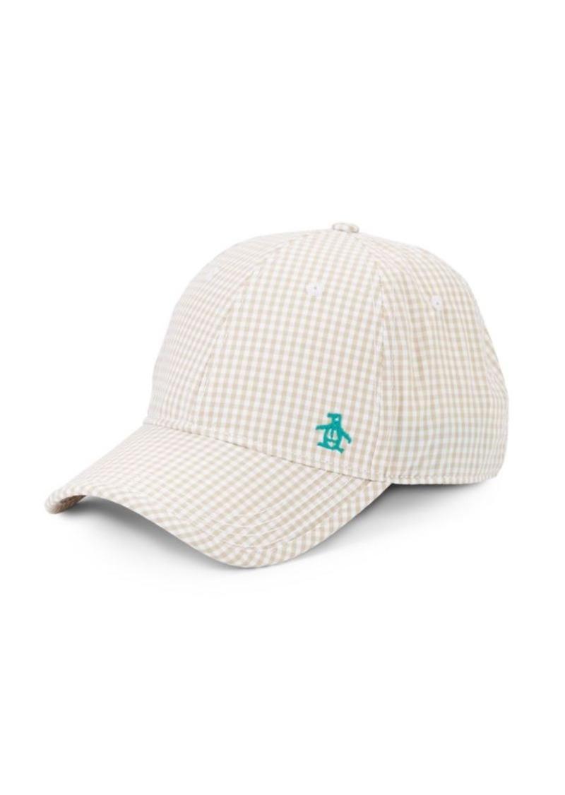 Original Penguin Ray-Ray Gingham Baseball Cap