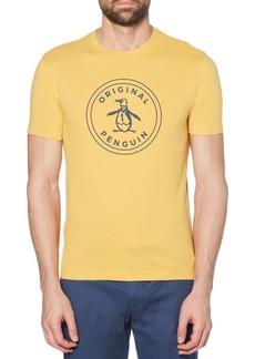 Original Penguin Regular-Fit Stamp Logo Graphic Cotton Jersey Tee