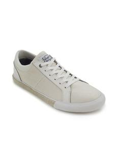 Original Penguin Richard Leather and Canvas Espadrille Shoes