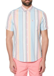 Original Penguin Roadmap Striped Shirt