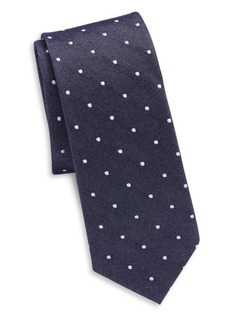 Original Penguin Silk and Cotton Tie