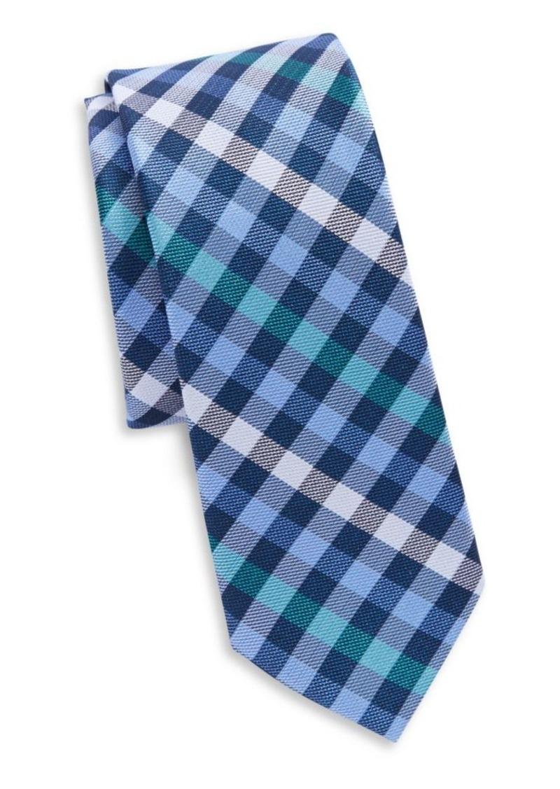 Original Penguin Silk Plaid Tie