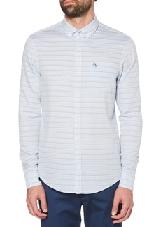 Original Penguin Slim Fit Dobby Sport Shirt