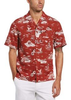 Original Penguin Slim Fit Short Sleeve Button-Up Shirt