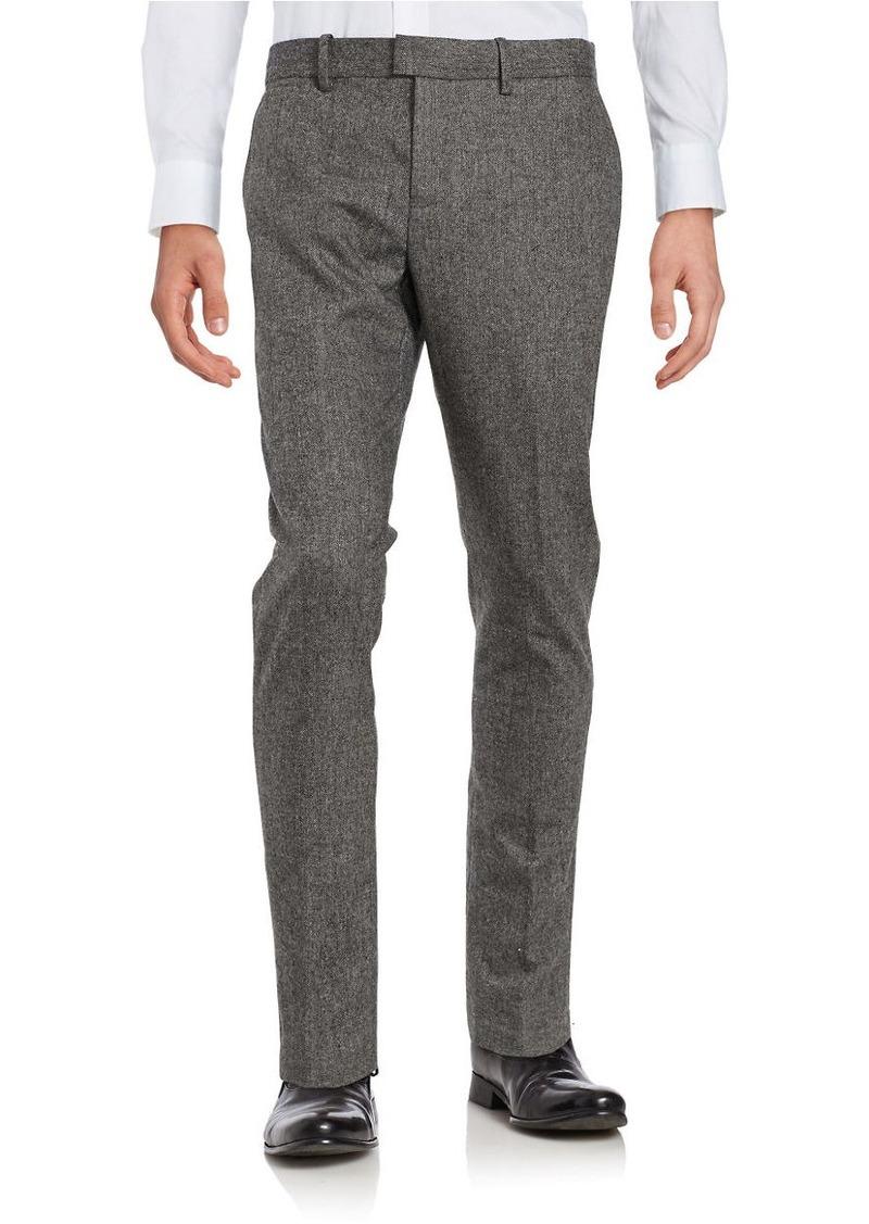 ORIGINAL PENGUIN Slim-Fit Tweed Pants