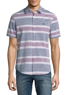 Original Penguin Stripe Button-Down Shirt