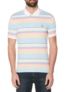 Original Penguin Stripe Piqué Polo