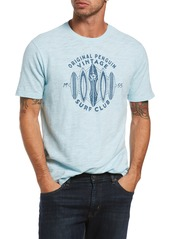 Original Penguin Surf Club Slub Graphic Tee