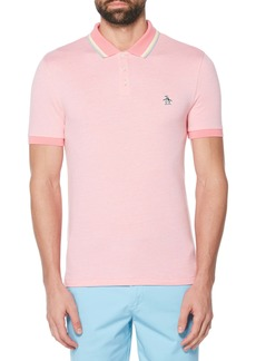 Original Penguin Tipped Bird's Eye Piqué Polo