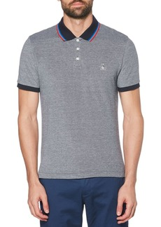 Original Penguin Tipped Birdseye Cotton Polo