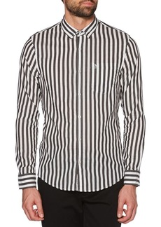 Original Penguin Two-Tone Vertical Striped Shirt