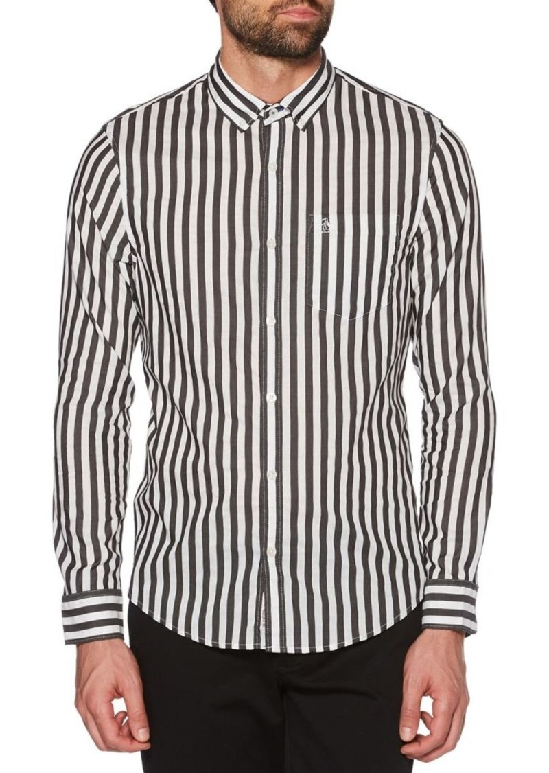 Original Penguin Two-Tone Vertical Striped Shirt
