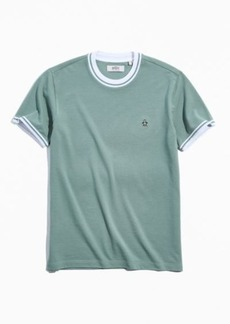 Original Penguin UO Exclusive Mock Neck Ringer Tee