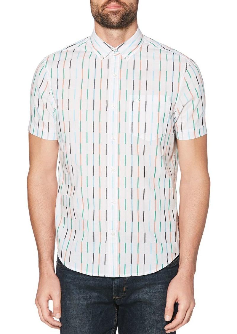 Original Penguin Vertical Stripe Regular Fit Shirt