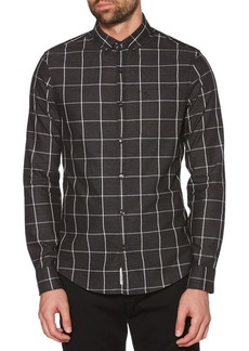 Original Penguin Windowpane Jaspe Shirt