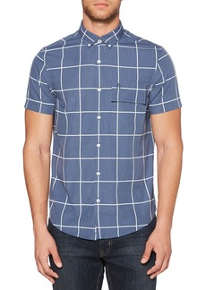 Original Penguin Windowpane Woven Shirt