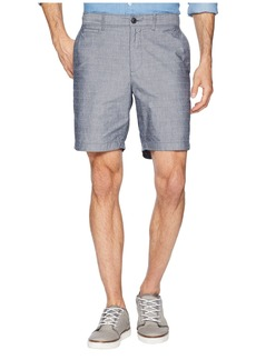 "Original Penguin P55 8"" Dobby Checkered Slim Fit Shorts"