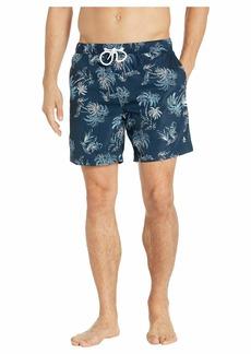 Original Penguin Palm Tree Fixed Stretch Swim Shorts