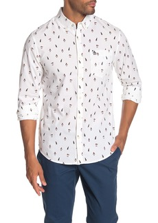 Original Penguin Penguin Print Heritage Slim Fit Shirt