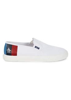 Original Penguin Petey Stripe Slip-On Sneakers