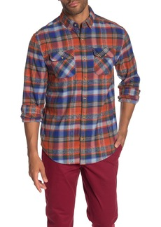 Original Penguin Plaid Flannel Heritage Slim Fit Shirt