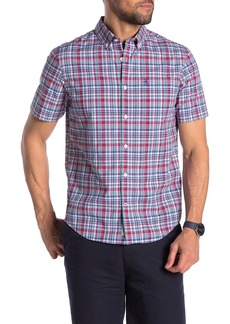 Original Penguin Plaid Print Regular Fit Shirt