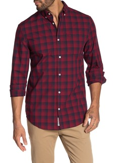 Original Penguin Plaid Print Slim Fit Shirt