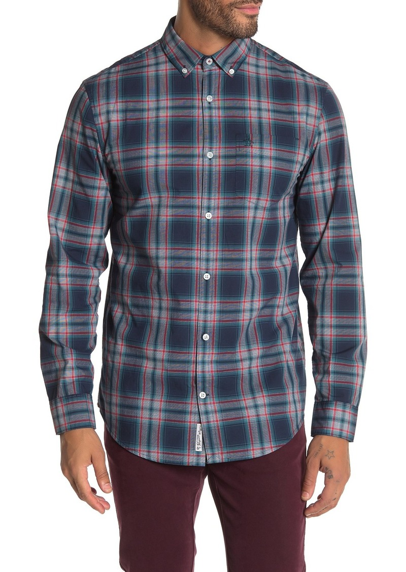 Original Penguin Slim Fit Plaid Shirt