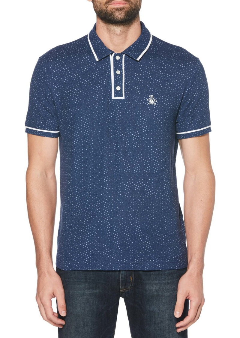 Original Penguin Polka Dot Pique Polo