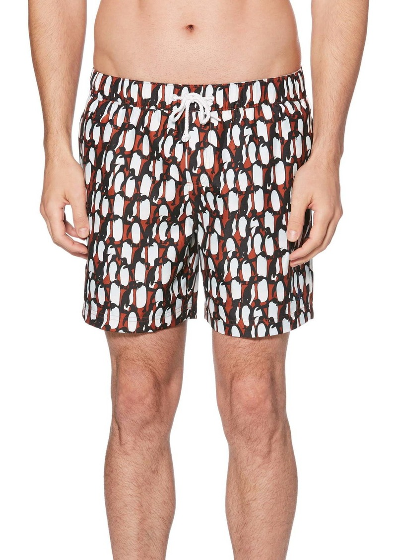 Original Penguin Print Volley Shorts