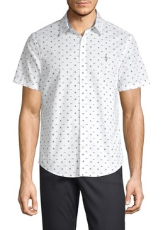 Original Penguin Printed Button-Down Shirt