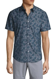 Original Penguin Printed Short-Sleeve Shirt