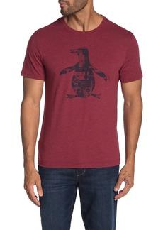 Original Penguin Radio Brand Logo Graphic T-Shirt