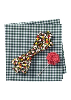 Original Penguin Reese Floral Bow Tie 3-Piece Set