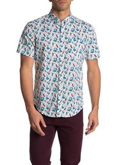 Original Penguin Computer Print Regular Fit Shirt