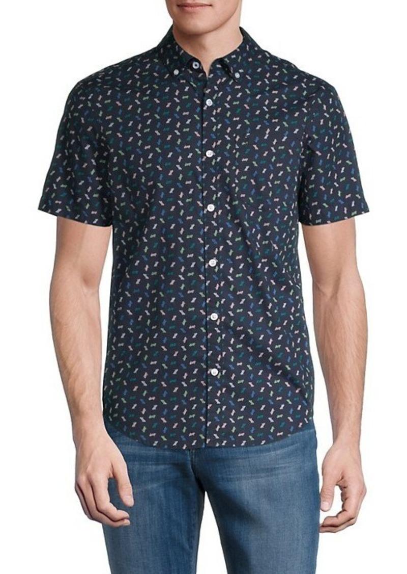 Original Penguin Regular-Fit Geometric Shirt