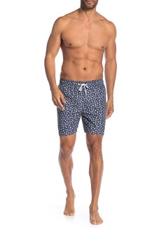 Original Penguin Reversible Snowflake Swim Trunks