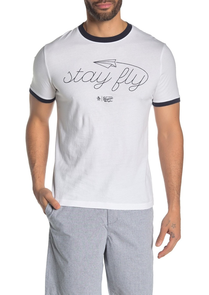 Original Penguin Ringer Contrast T-Shirt