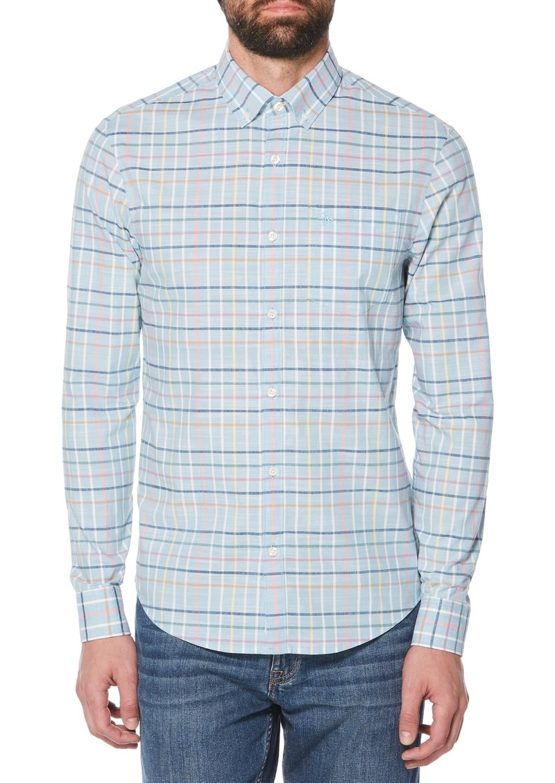 Original Penguin Roadmap Extra Slim Fit Check Shirt