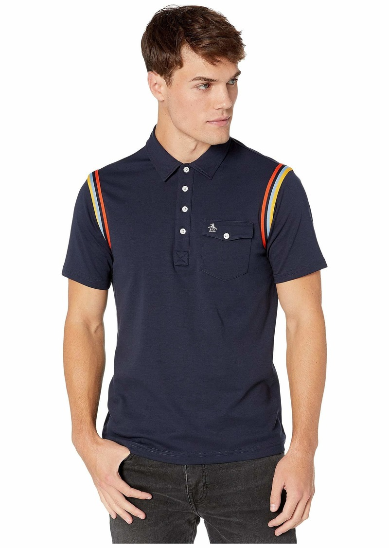 Original Penguin Short Sleeve Banded Arm Polo