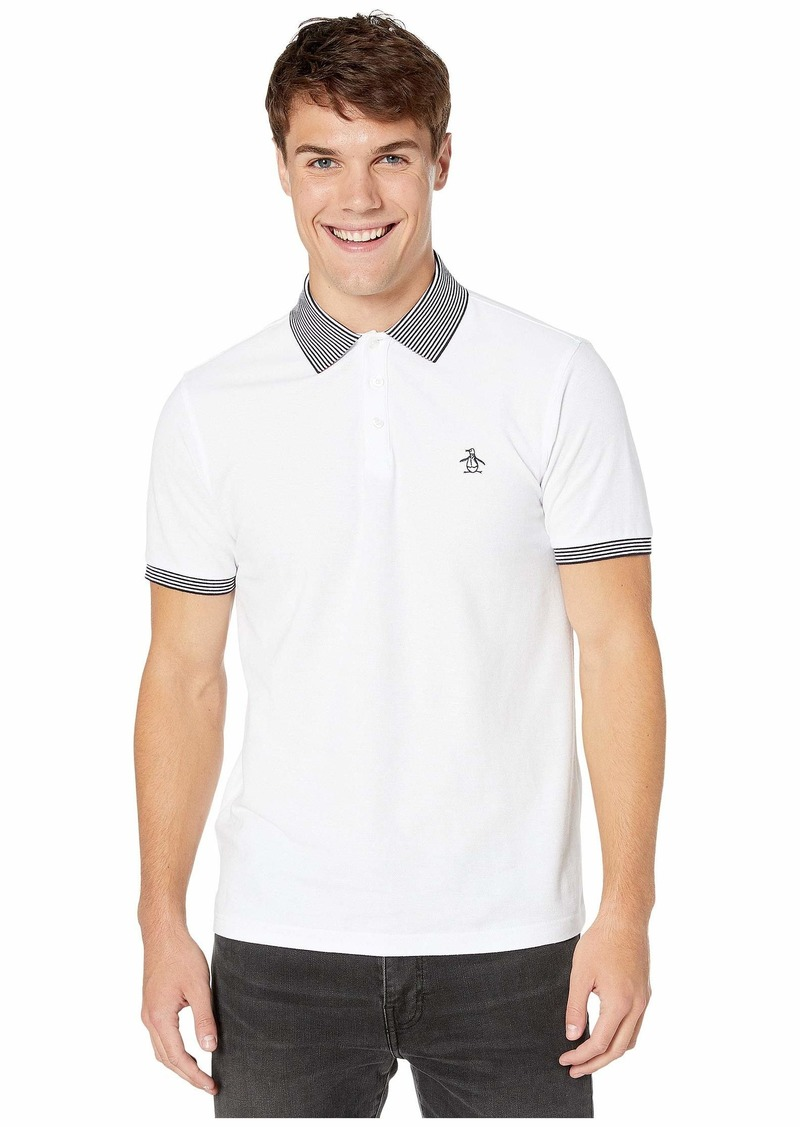 Original Penguin Short Sleeve Banded Tipped Polo