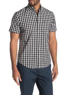 Original Penguin Short Sleeve Buffalo Check Shirt