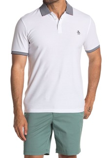 Original Penguin Short Sleeve Collar Interest Polo